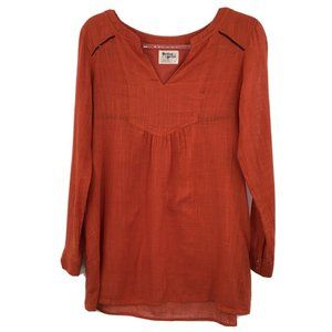 Holding Horses Size 6 Long Sleeve Pullover Tunic